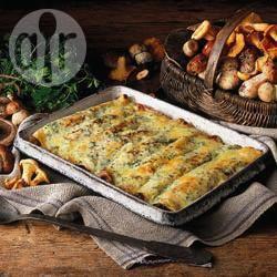 Recette crêpes roulées aux champignons – toutes les recettes ...