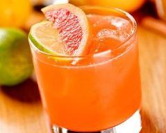Recette cocktail au vin blanc à l'infusion de thé et jus d'orange ...