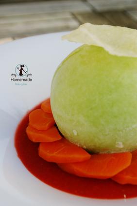 Recette de dessert light aux légumes
