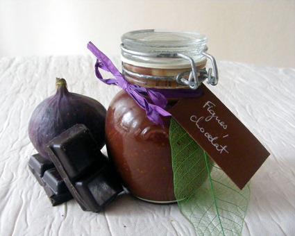 Recette de confiture de figues au chocolat