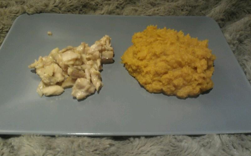 Recette cabillaud mariné et purée de patate douce économique et ...