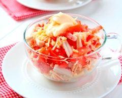 Recette salade de crabe
