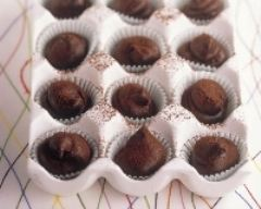 Recette truffes au chocolat et au rhum