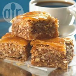 Recette baklava facile – toutes les recettes allrecipes