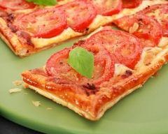 Recette tarte tomate mozza