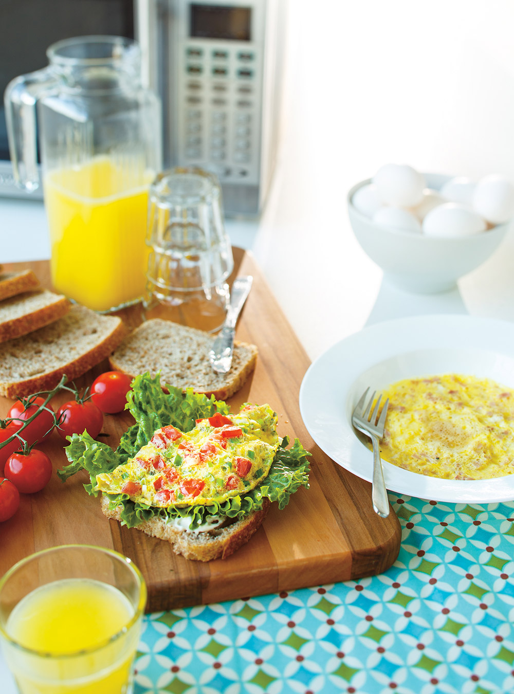 Omelettes faciles au micro-ondes | ricardo