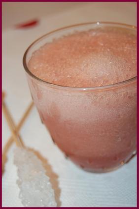 Recette de smoothie pomme, poire et cranberries