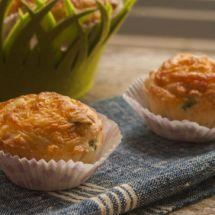 Muffins tomate pesto