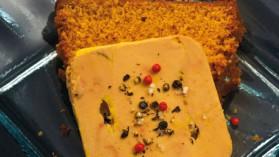 Foie gras au pain d'épices de bruyère blanche pour 4 personnes ...