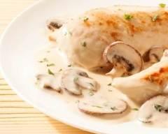 Recette escalopes de poulet à la crème