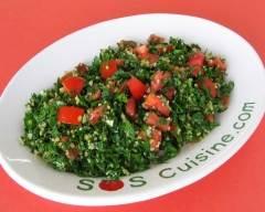 Recette salade taboulé sans blé sans gluten