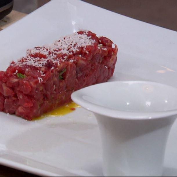 Recette tartare de bœuf surprise