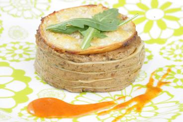 Recette de lasagne à la riste d'aubergine, jambon fromage facile et ...