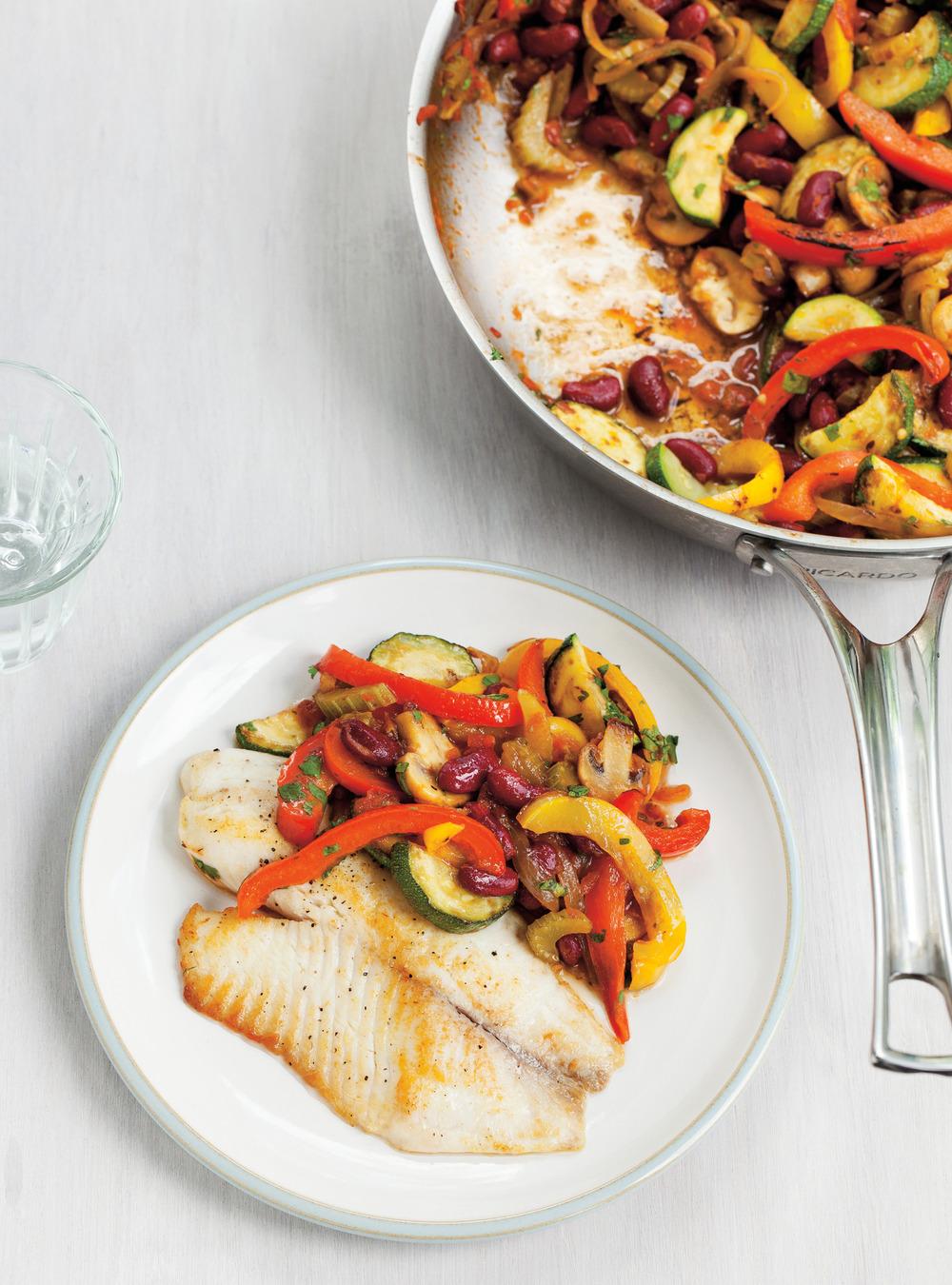Tilapia et sauté de légumes | ricardo