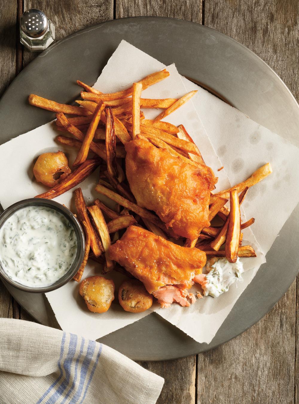 Fish and chips de truite | ricardo