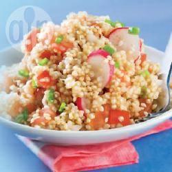Recette salade de quinoa, tomates et radis roses – toutes les ...