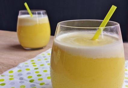 Recette de smoothie mangue coco