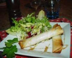 Recette rouleaux feuilletés aux pommes de terre et au thon