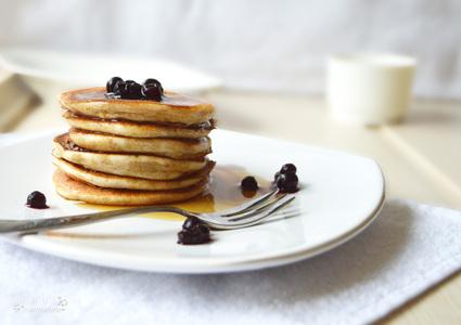 Recette de pancakes énergétiques à la banane