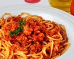 Recette spaghettis au thon minceur