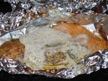 Recette de papillotes de saumon citron-aneth