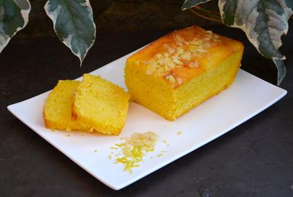 Cake au citron et amandes
