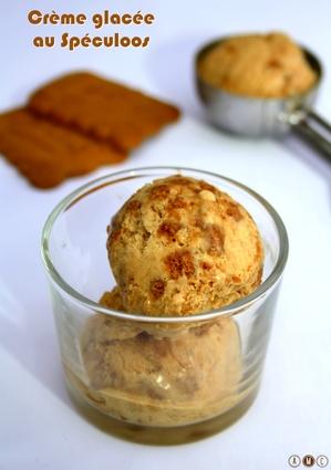 Recette de crème glacée au spéculoos (sans sorbetière)