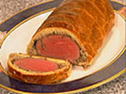 Recette de filet de boeuf en croûte, sauce foie gras