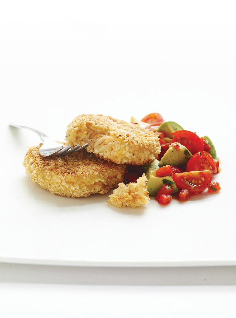 Croquettes de saumon et salsa | ricardo