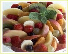 Recette salade de fruits au miel