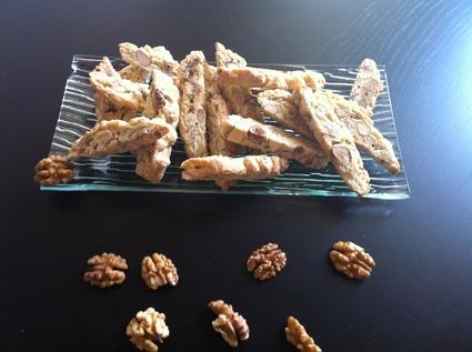 Recette de croquants aux amandes, noix et noisettes