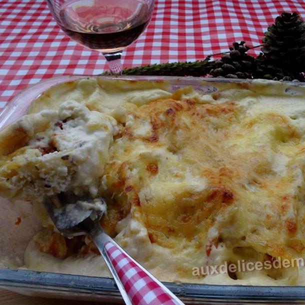 Recette conchiglionis aux 3 viandes gratin s la cr me au - Viande facile a cuisiner ...