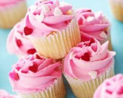 Recette cupcakes à la vanille et crème à la fraise