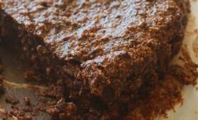 Gâteau au chocolat sans lait ni oeufs pour 6 personnes