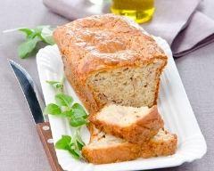 Recette cake au thon et basilic