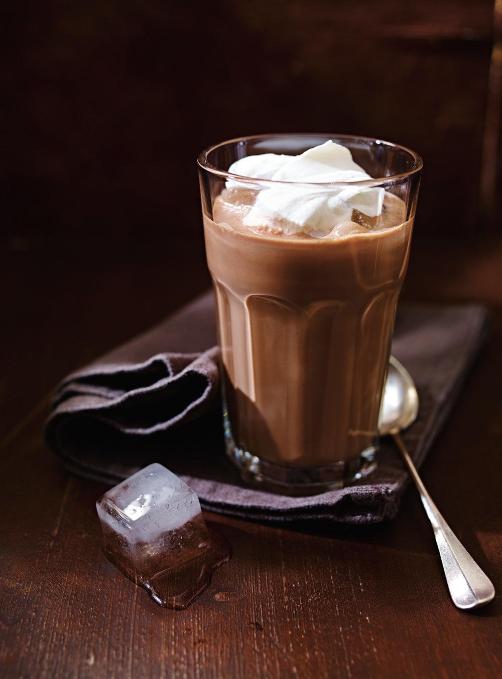 Café glacé au chocolat (shokolad-gliase)   ricardo