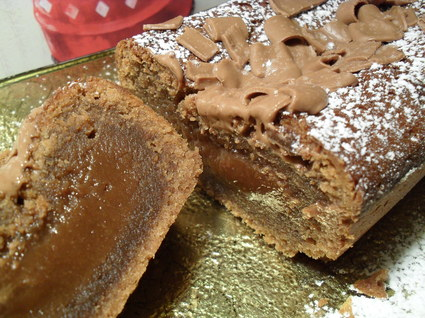 Recette de cake crousti-fondant prâlinoise presque coulant