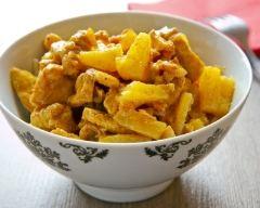 Recette poulet à l'ananas facile