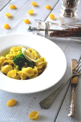 Recette orecchiette aux brocolis & au parmesan