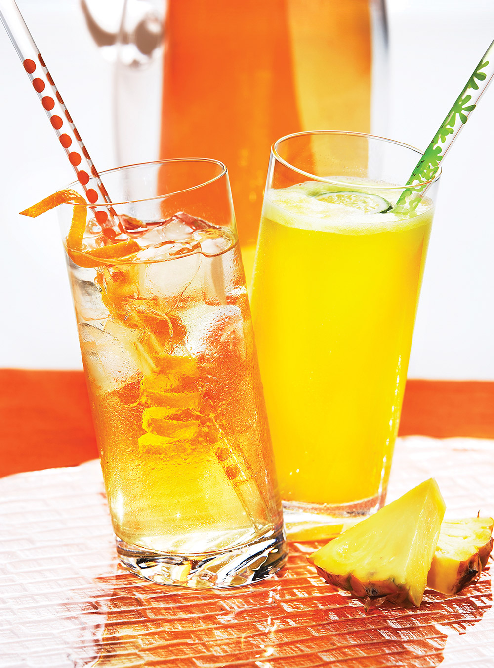 Limonade à l'ananas et au citron vert | ricardo
