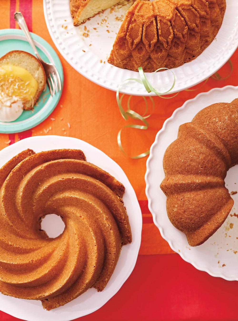 Gâteau bundt doré | ricardo