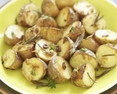Recette pommes de terre sautées à l'ail et persil