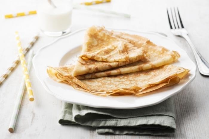 Recette de pâte à crêpes au sucre vanillé
