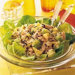 Recette poulet fumé en salade fruitée – toutes les recettes allrecipes