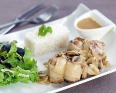 Recette paupiette de porc en sauce aux champignons
