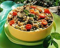 Recette salade de haricots blancs au thon et tomates cerises