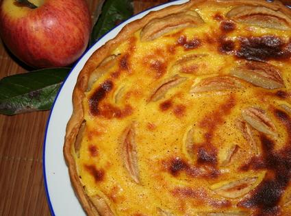 Recette de tarte aux pommes façon alsacienne