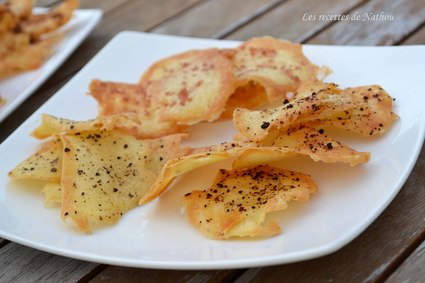 Recette de chips de blancs d'oeufs aux épices