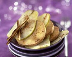 Recette millefeuille de foie gras aux poires