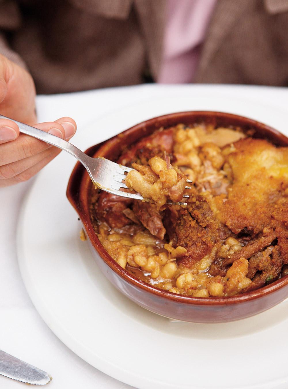 Cassoulet simple recette for Easy cuisine toulouse